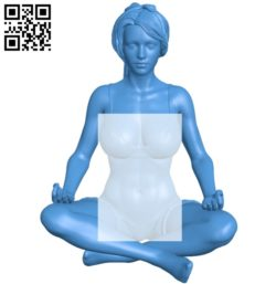 Miss Zen B005432 file stl free download 3D Model for CNC and 3d printer