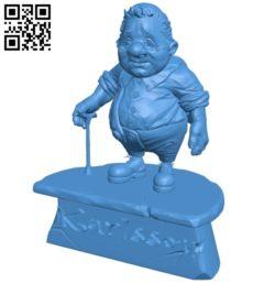 Mr Karlsson B005284 file stl free download 3D Model for CNC and 3d printer