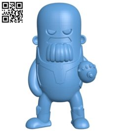 Mr Thanos B005704 download free stl files 3d model for 3d printer and CNC carving