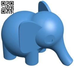 Nice Elephant B005352 file stl free download 3D Model for CNC and 3d printer