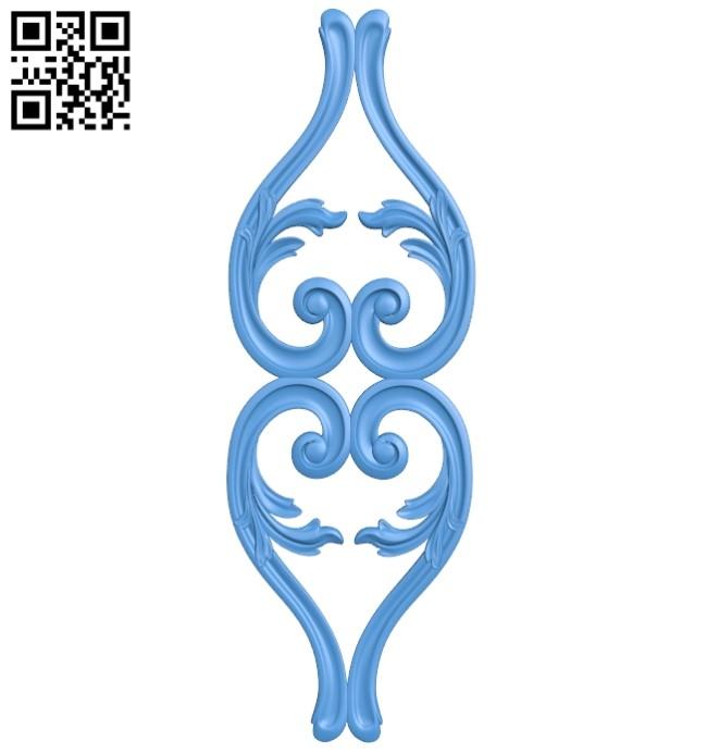 Pattern dekor design A004136 download free stl files 3d model for CNC wood carving