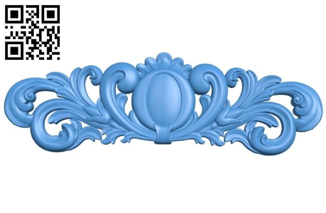 Pattern dekor design A004137 download free stl files 3d model for CNC wood carving