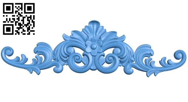 Pattern dekor design A004139 download free stl files 3d model for CNC wood carving