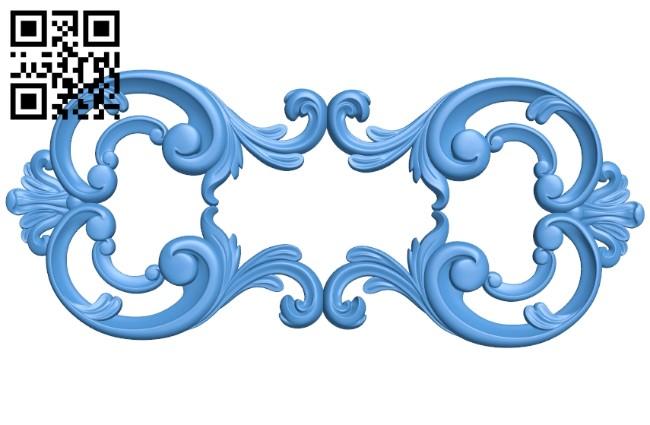 Pattern dekor design A004143 download free stl files 3d model for CNC wood carving