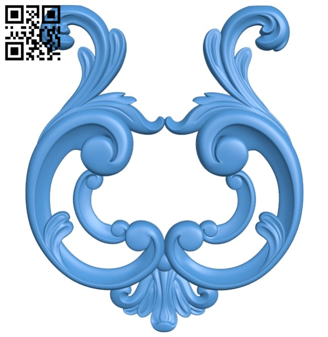 Pattern dekor design A004144 download free stl files 3d model for CNC wood carving
