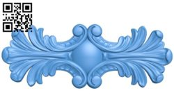 Pattern dekor design A004145 download free stl files 3d model for CNC wood carving