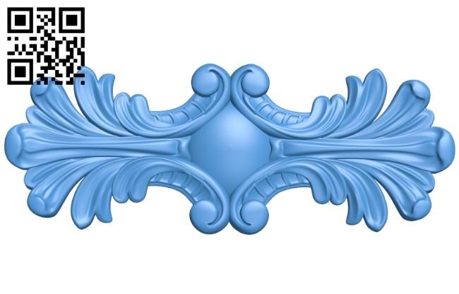 Pattern dekor design A004145 download free stl files 3d model for CNC wood carving