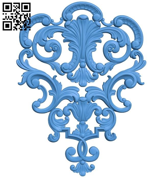 Pattern dekor design A004146 download free stl files 3d model for CNC wood carving