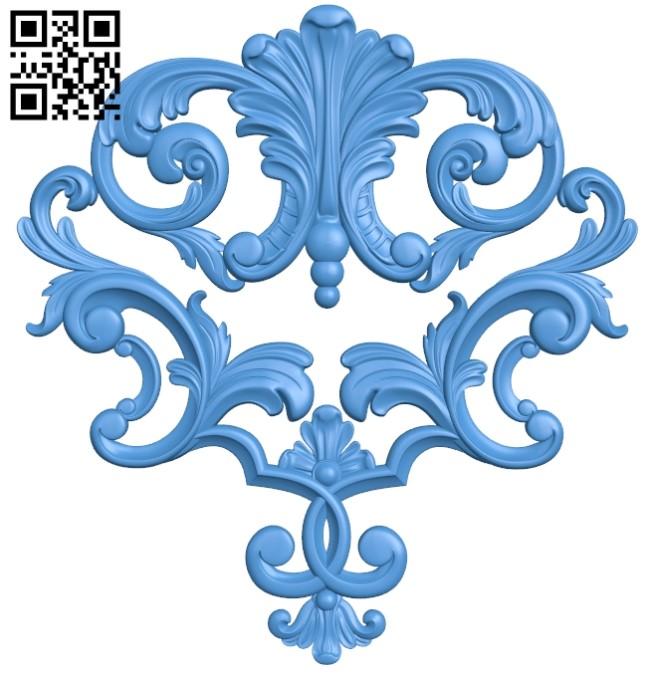 Pattern dekor design A004147 download free stl files 3d model for CNC wood carving