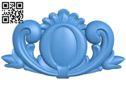 Pattern dekor design A004148 download free stl files 3d model for CNC wood carving
