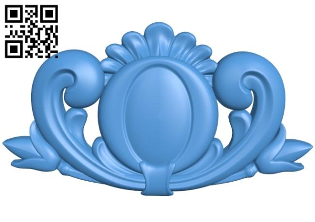 Pattern dekor design A004148 download free stl files 3d model for CNC wood carving