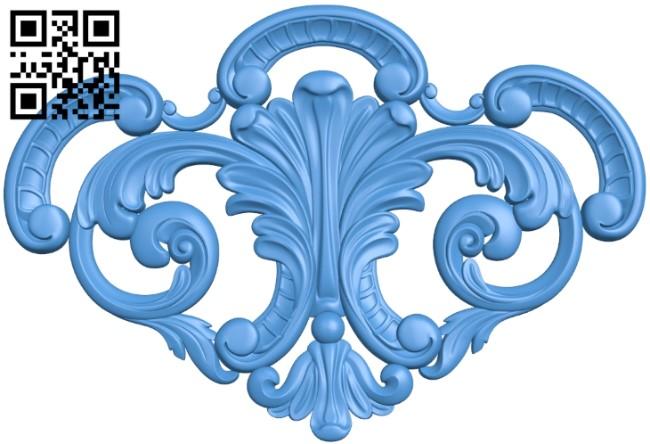 Pattern dekor design A004150 download free stl files 3d model for CNC wood carving