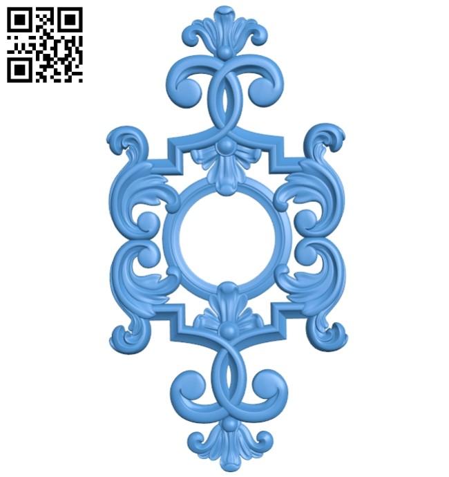 Pattern dekor design A004151 download free stl files 3d model for CNC wood carving