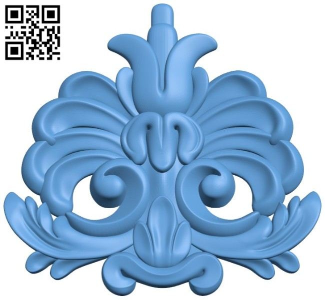 Pattern dekor design A004164 download free stl files 3d model for CNC wood carving