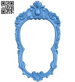 Pattern frames design A003930 wood carving file stl free 3d model download for CNC
