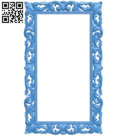Pattern frames design A003931 wood carving file stl free 3d model download for CNC