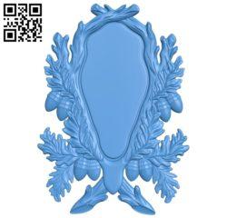 Pattern frames design A003932 wood carving file stl free 3d model download for CNC