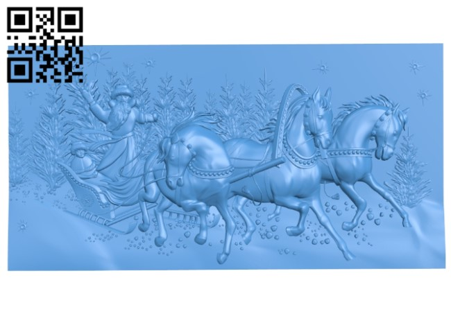 Picture Happy New Year A004106 download free stl files 3d model for CNC wood carving