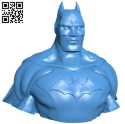Powerful batman B005517 free download stl file 3D Model for CNC and 3d printer