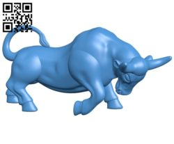 Powerfull Bull B005298 file stl free download 3D Model for CNC and 3d printer