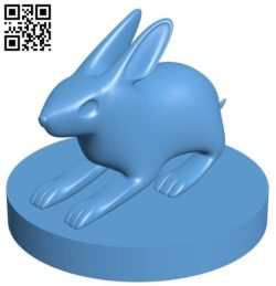 Rabbit B005757 download free stl files 3d model for 3d printer and CNC carving
