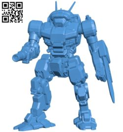 Robot B005646 download free stl files 3d model for 3d printer and CNC carving