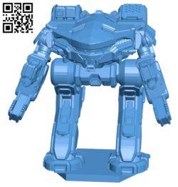 Robot KGC-000 B005270 file stl free download 3D Model for CNC and 3d printer