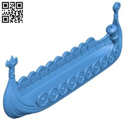 Ship viking load B005392 file stl free download 3D Model for CNC and 3d printer