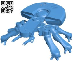 Spider Tank B005299 file stl free download 3D Model for CNC and 3d printer