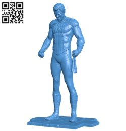 Spider man B005305 file stl free download 3D Model for CNC and 3d printer
