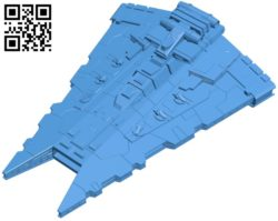 Star wars gladiator ship B005584 download free stl files 3d model for 3d printer and CNC carving