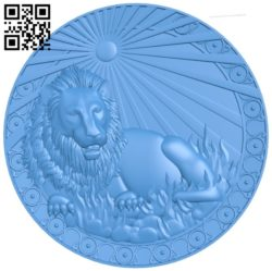 Supply lion – Zodiac A004099 download free stl files 3d model for CNC wood carving