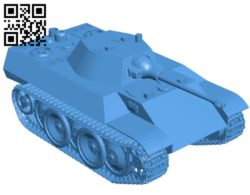 Tank Leopard B005385 file stl free download 3D Model for CNC and 3d printer