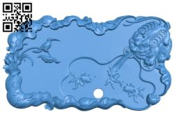 Toad shaped tea tray A004095 download free stl files 3d model for CNC wood carving