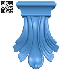 Top of the column A004073 download free stl files 3d model for CNC wood carving