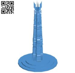 Tower – house B005591 download free stl files 3d model for 3d printer and CNC carving