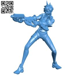 Tracer with gun B005358 file stl free download 3D Model for CNC and 3d printer