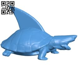 Turtle Shark B005350 file stl free download 3D Model for CNC and 3d printer