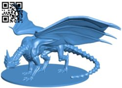 Undead Dragon B005659 download free stl files 3d model for 3d printer and CNC carving