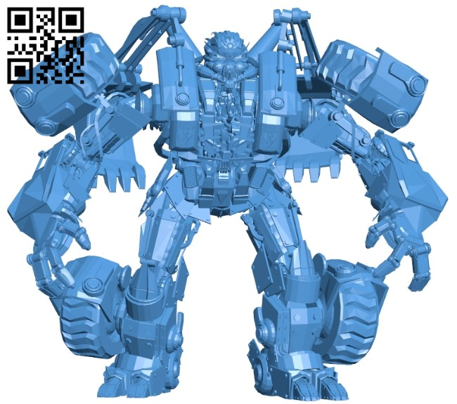 Unknown transformer B005520 free download stl file 3D Model for CNC and 3d printer