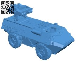 VAB Mephisto Tank B005354 file stl free download 3D Model for CNC and 3d printer