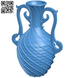 Vase B005649 download free stl files 3d model for 3d printer and CNC carving