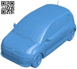 Volkswagen Up Car B005322 file stl free download 3D Model for CNC and 3d printer