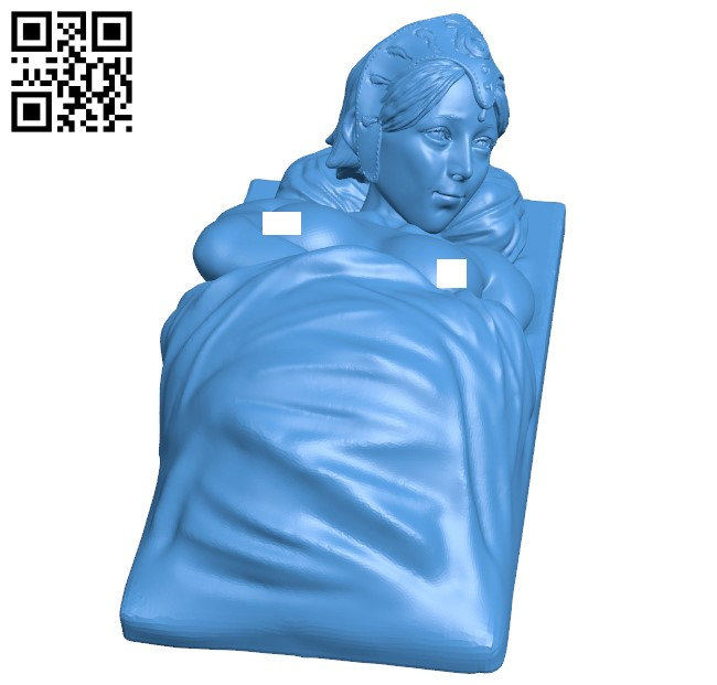 Women B005366 file stl free download 3D Model for CNC and 3d printer