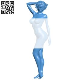 Women B005415 file stl free download 3D Model for CNC and 3d printer