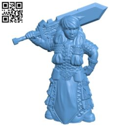 Women war B005773 download free stl files 3d model for 3d printer and CNC carving