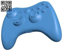 Xbox 360 – game pad B005345 file stl free download 3D Model for CNC and 3d printer