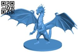 Young dragon B005465 file stl free download 3D Model for CNC and 3d printer