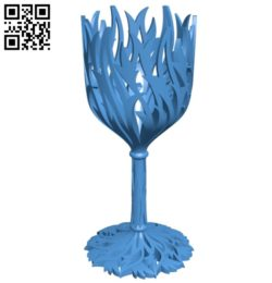 wine cup holder B005484 file stl free download 3D Model for CNC and 3d printer