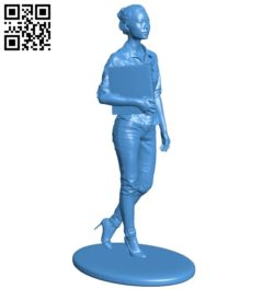 Women at work B005343 file stl free download 3D Model for CNC and 3d printer